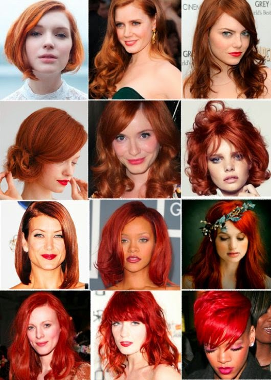 8 Flattering Ideas For Red Hairstyles Hair Fashion Online