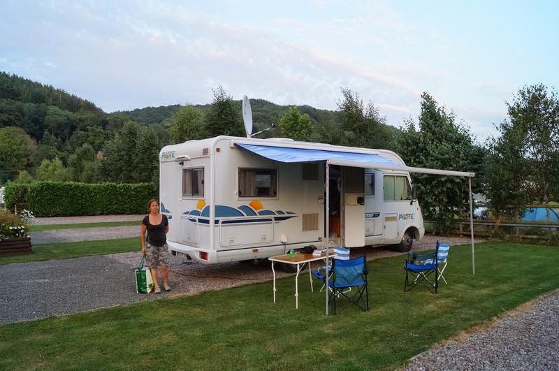 camping Lucksall, campings en hereford, campings Inglaterra, caravan club inglaterra