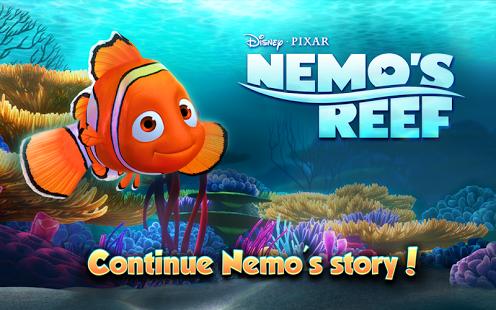 Nemo's Reef v1.5.1 APK [Unlimited Algae/Bubbles/Energy]