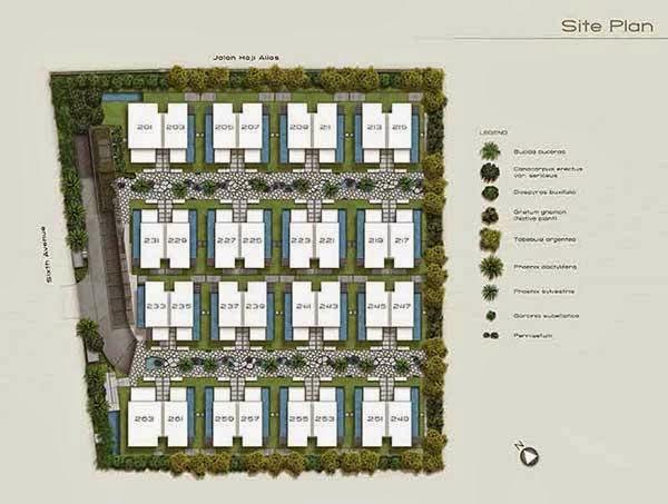 Palms @ Sixth Avenue Siteplan