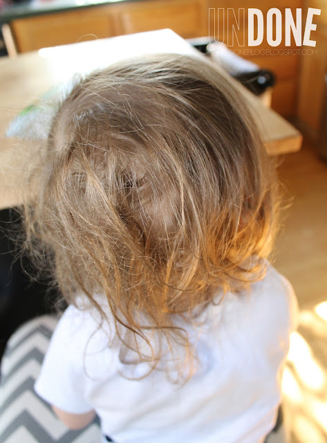 {UNDONE} Messy Toddler Hair