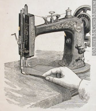 Trampled By Geese New Williams Sewing Machine A Bit About The History Interesting History Of Sewing Machine
