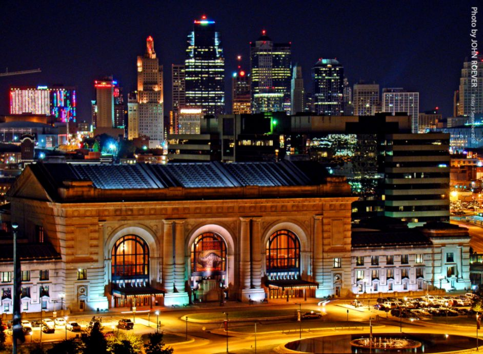 Kansas City At Night Wallpaper
