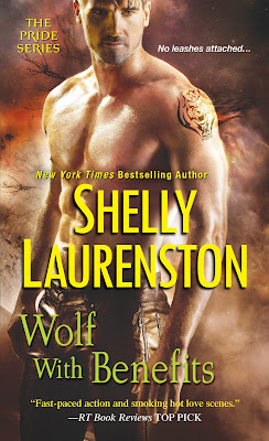 Wolf with Benefits by Shelly Laurenston Book