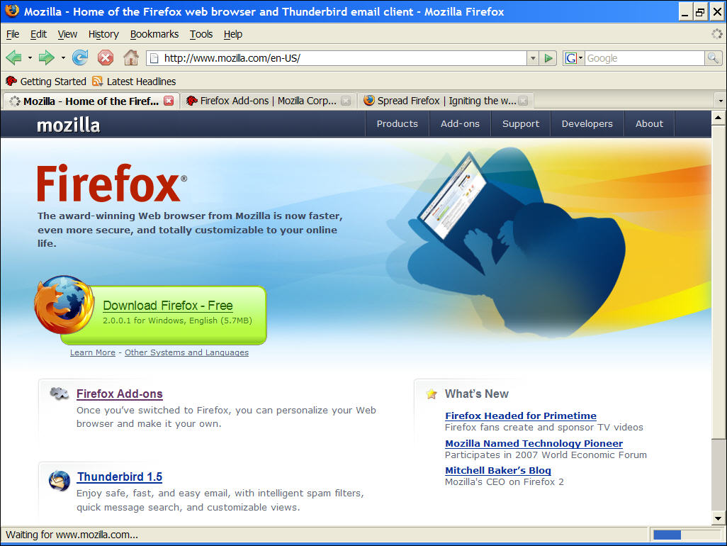 Download of Mozilla Firefox browser 17.0.1 free ~ Beginners computer ...