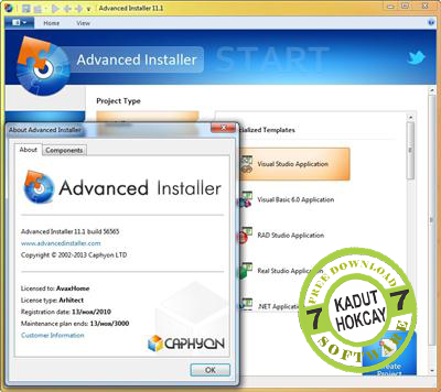 Download Advanced Installer 11.1 Build 56565 Full Version