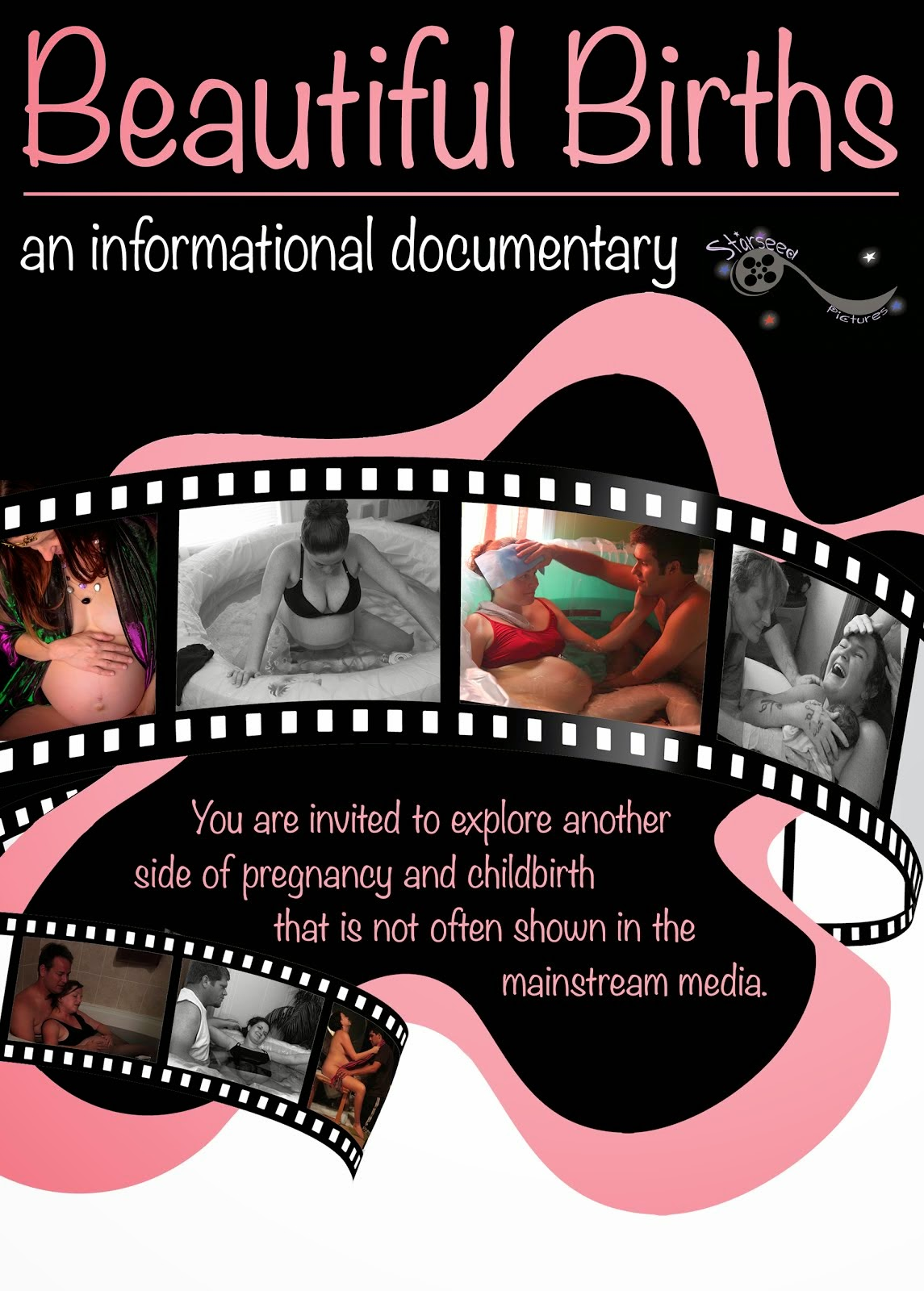 "Giveaway for ""Beautiful Births Documentary"" Shirt and DVD"