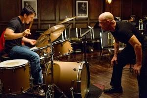 Miles Teller y J. K. Simmons en Whiplash