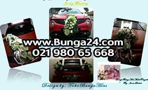 Bunga Hias Mobil Pengantin