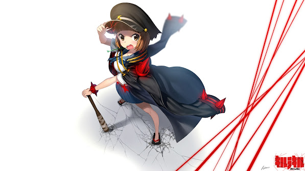 mako mankanshoku girl kill la kill anime hd wallpaper