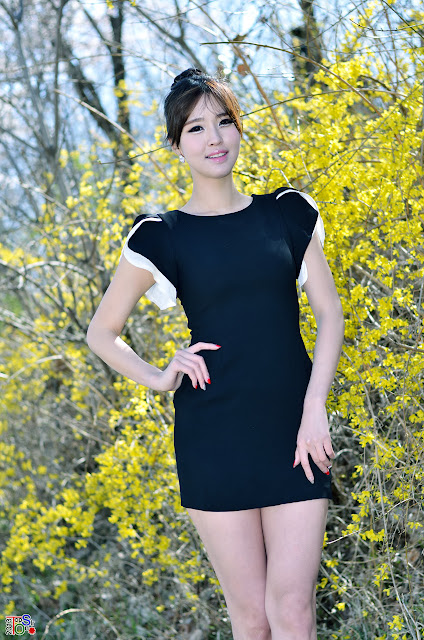 4 Choi Byeol Ha Outdoor  - very cute asian girl - girlcute4u.blogspot.com