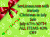 Christmas In July at SoyLicious.com with Melody