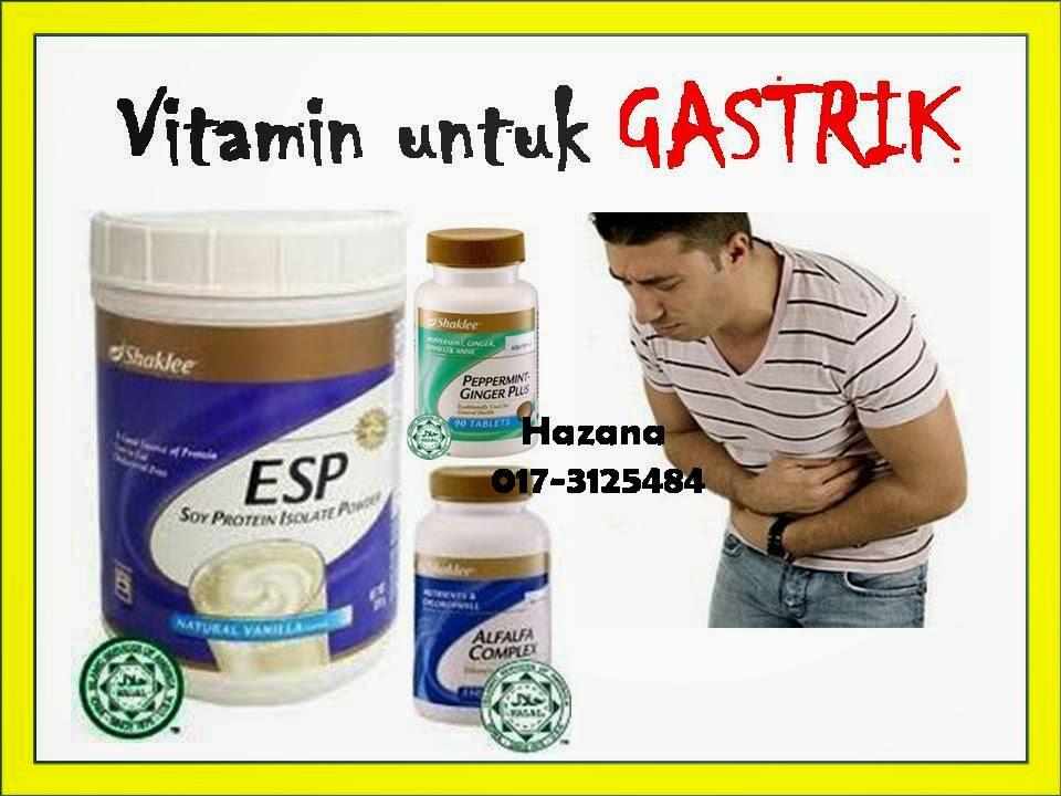vitamin shaklee untuk gastrik