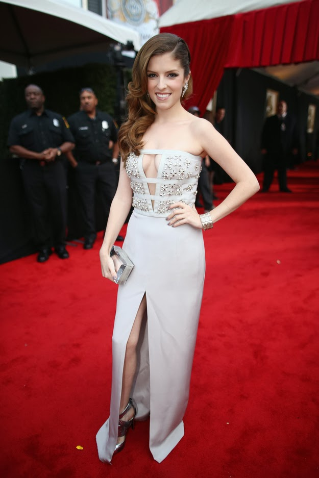 Anna Kendrick in Azzaro at the Grammys