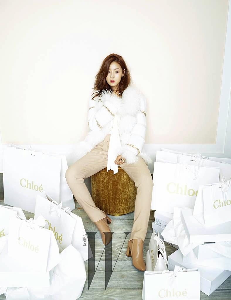 Han Ji Hye - W Magazine November Issue 2014
