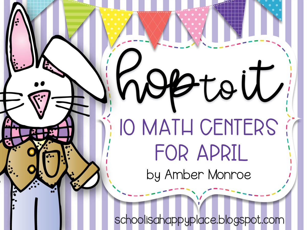 Math Centers for April