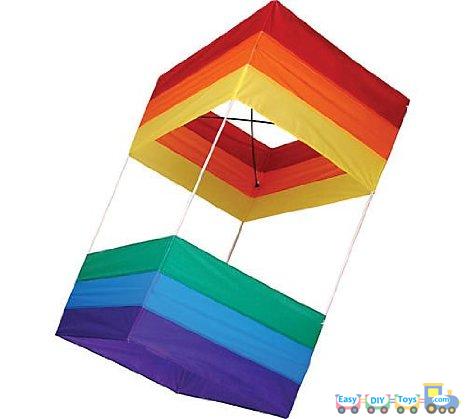 Simple homemade box kite