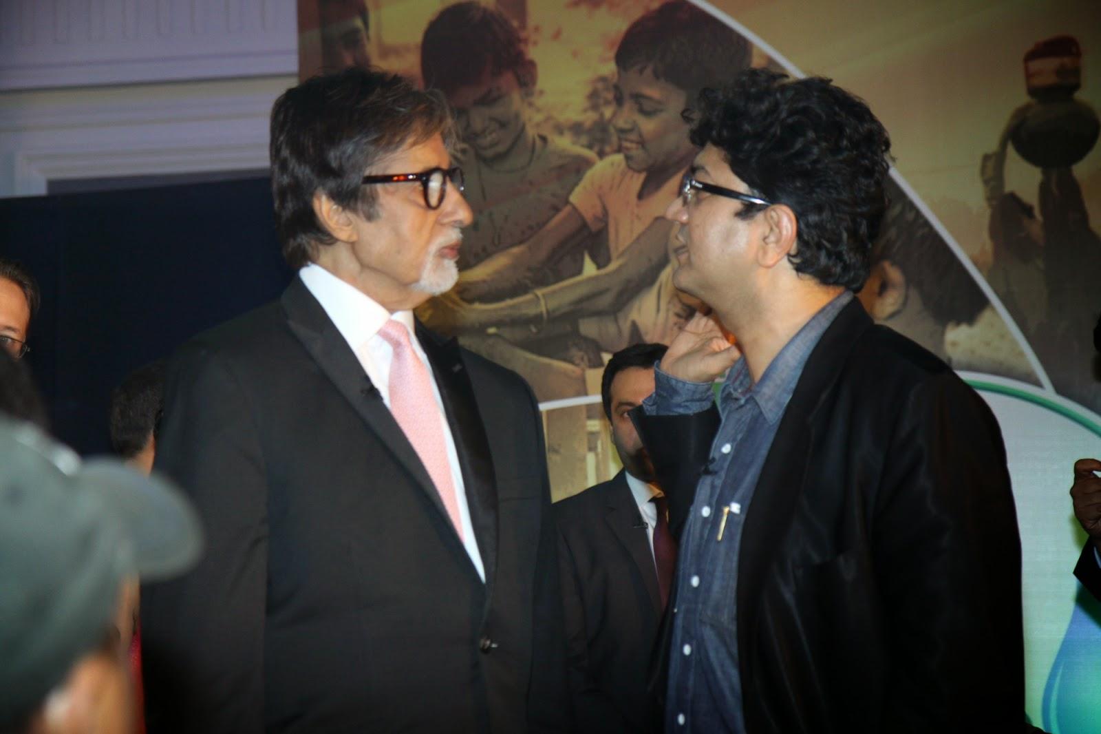 Amitabh Bachchan At Launch Of Dettol Banega Swachh India Initiative