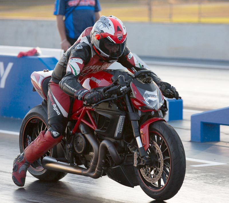 Ducati Monster Drag Bike