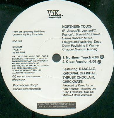 Rascalz – Northern Touch (VLS) (1997) ( VBR)