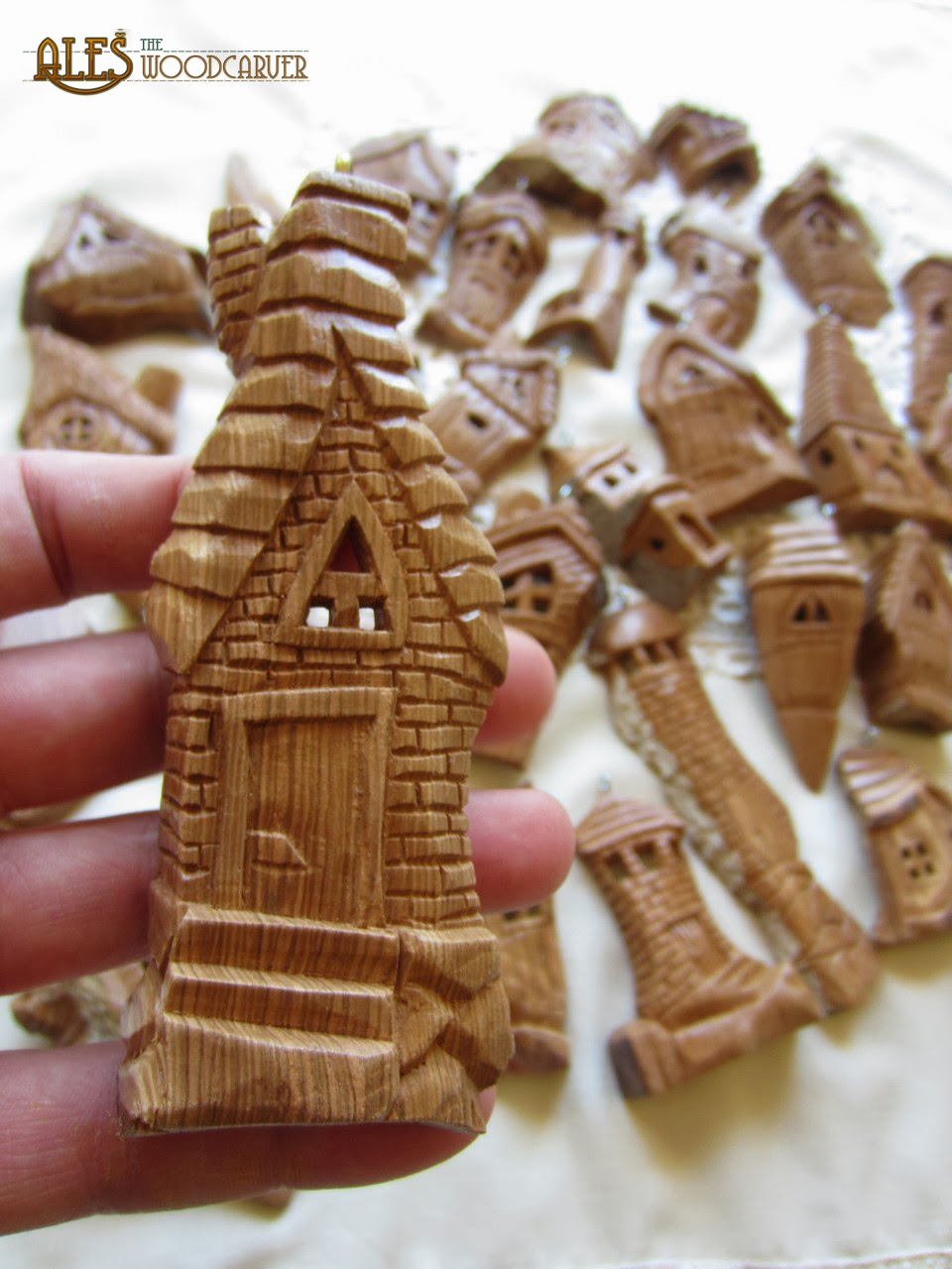 Ales the woodcarver yule ornaments