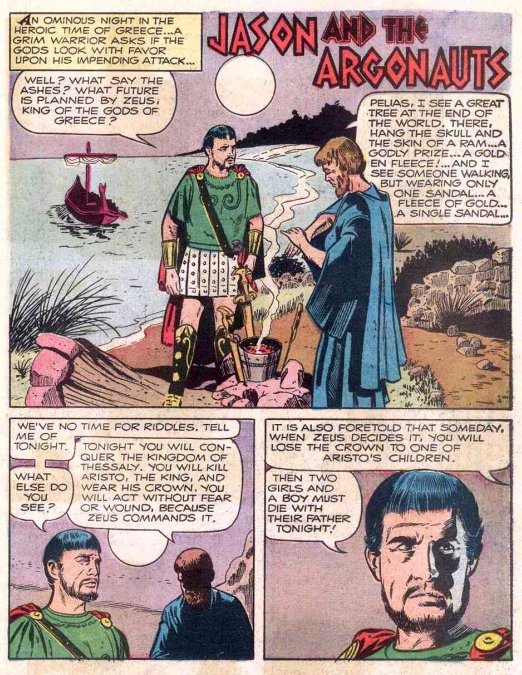 Secret Sanctum Of Captain Video Captains Library Jason And The