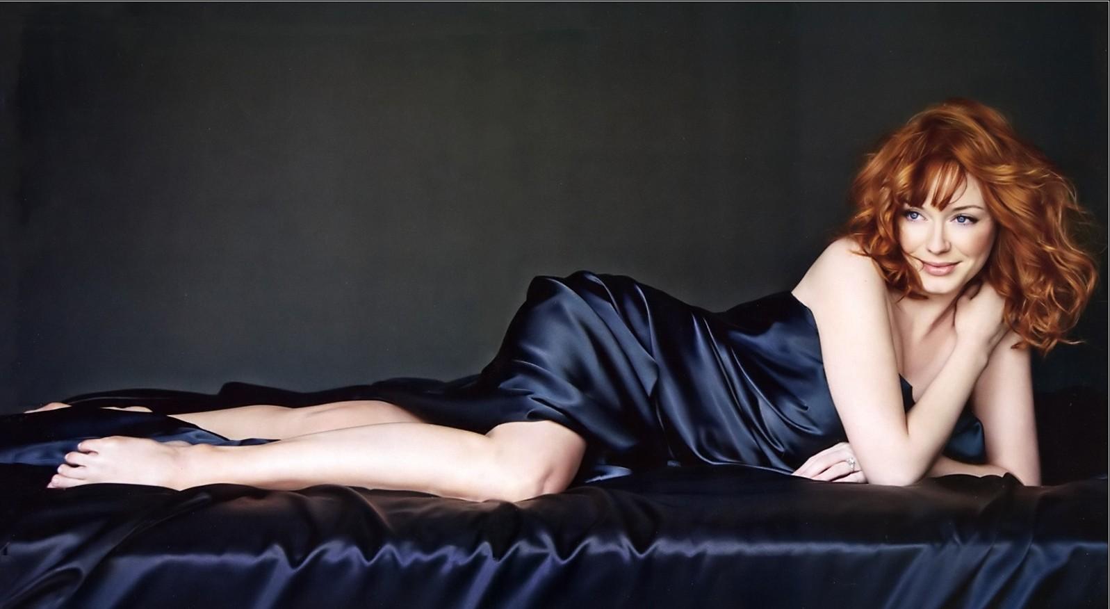 Christina Hendricks Beautiful Fresh Hot Hd Wallpaper 2013