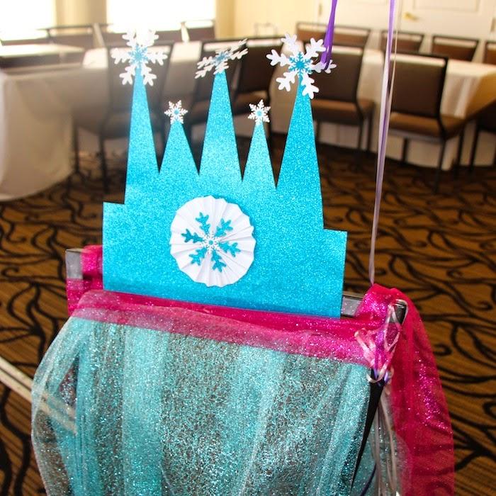 Decoración de Fiestas Infantiles de Frozen