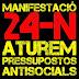 24 de novembre: Manifestació unitària: Contra els pressupostos antisocials !