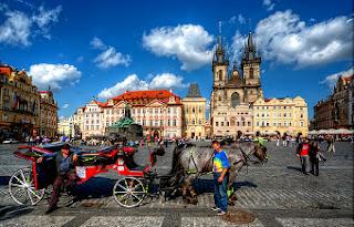 Plaza de la Ciudad Vieja - Praga
