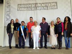 DIF Xalapa lleva a cabo elección de Reyna del Carnaval del Adulto Mayor 2015
