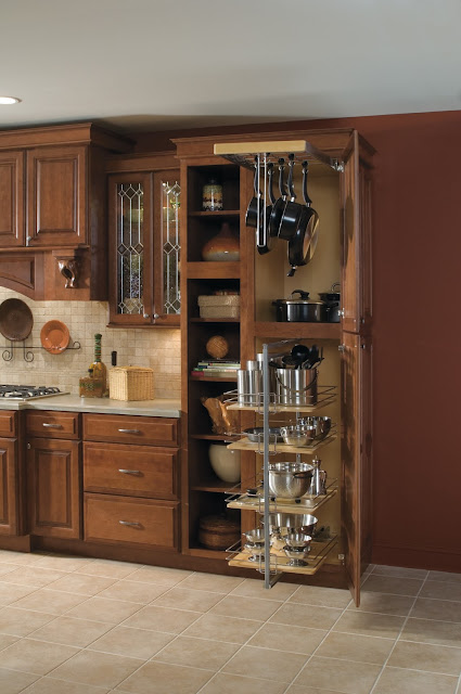 Baker's Cabinet - excellent use of space :: OrganizingMadeFun.com