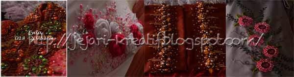 Antara design beads dari saya...
