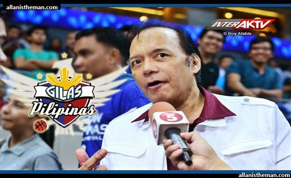 """Robert Jaworski on coaching of Gilas Pilipinas: """"Why not?"""""""
