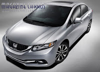 Fotos do Novo Honda Civic 2013 2014