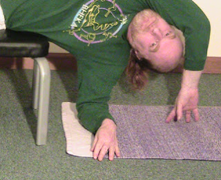 Hand Position for Side Lying Pose