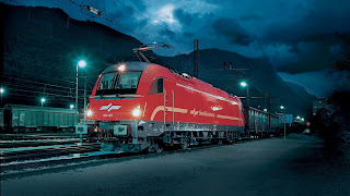 Night Train Light HD Wallpaper