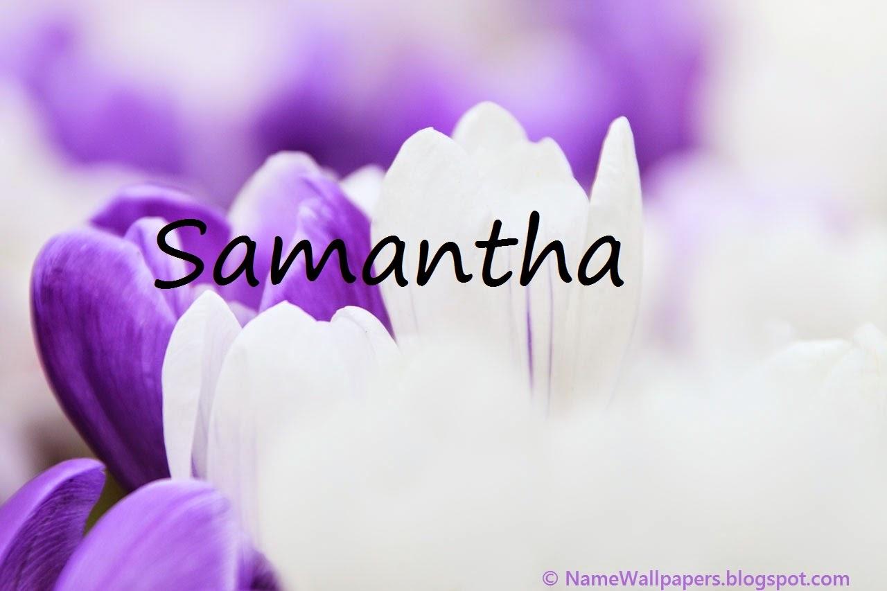 Samantha Name Wallpapers Samantha ~ Name Wallpaper Urdu ...