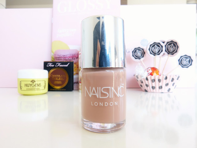 Nailsinc london nude vernis Nail Automne Glossybox