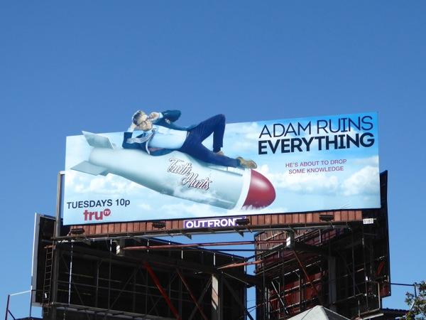 Adam Ruins Everything series premiere billboard