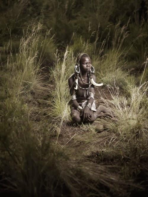 Wajah-Wajah Pribumi Afrika Yang Unik