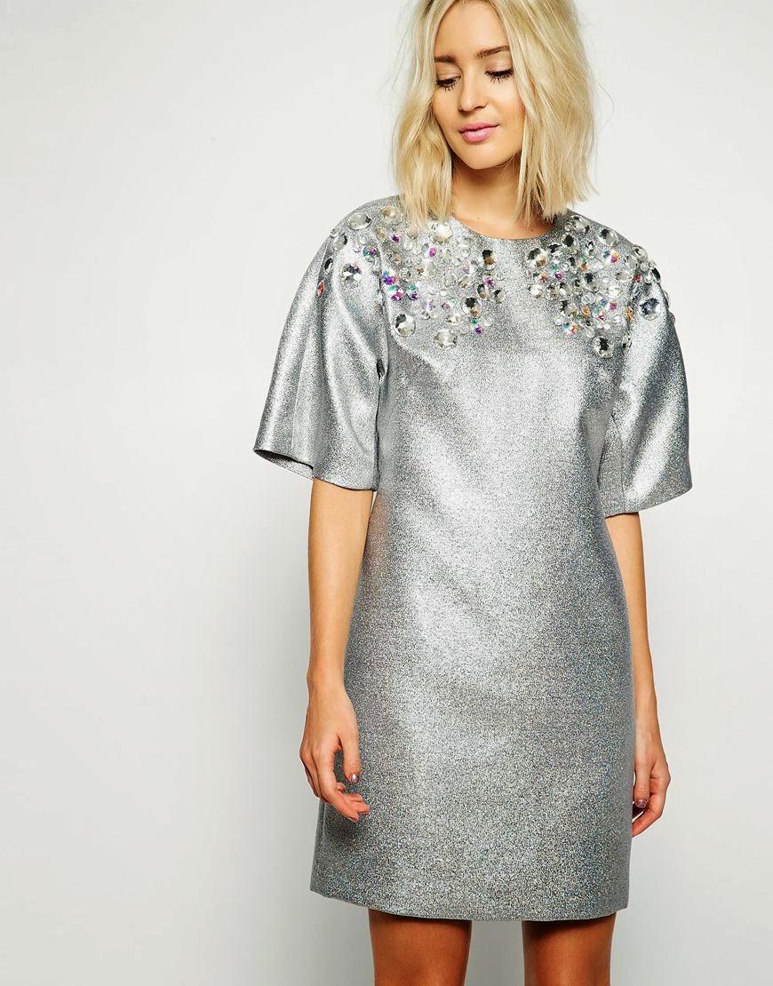 silver dress 2014