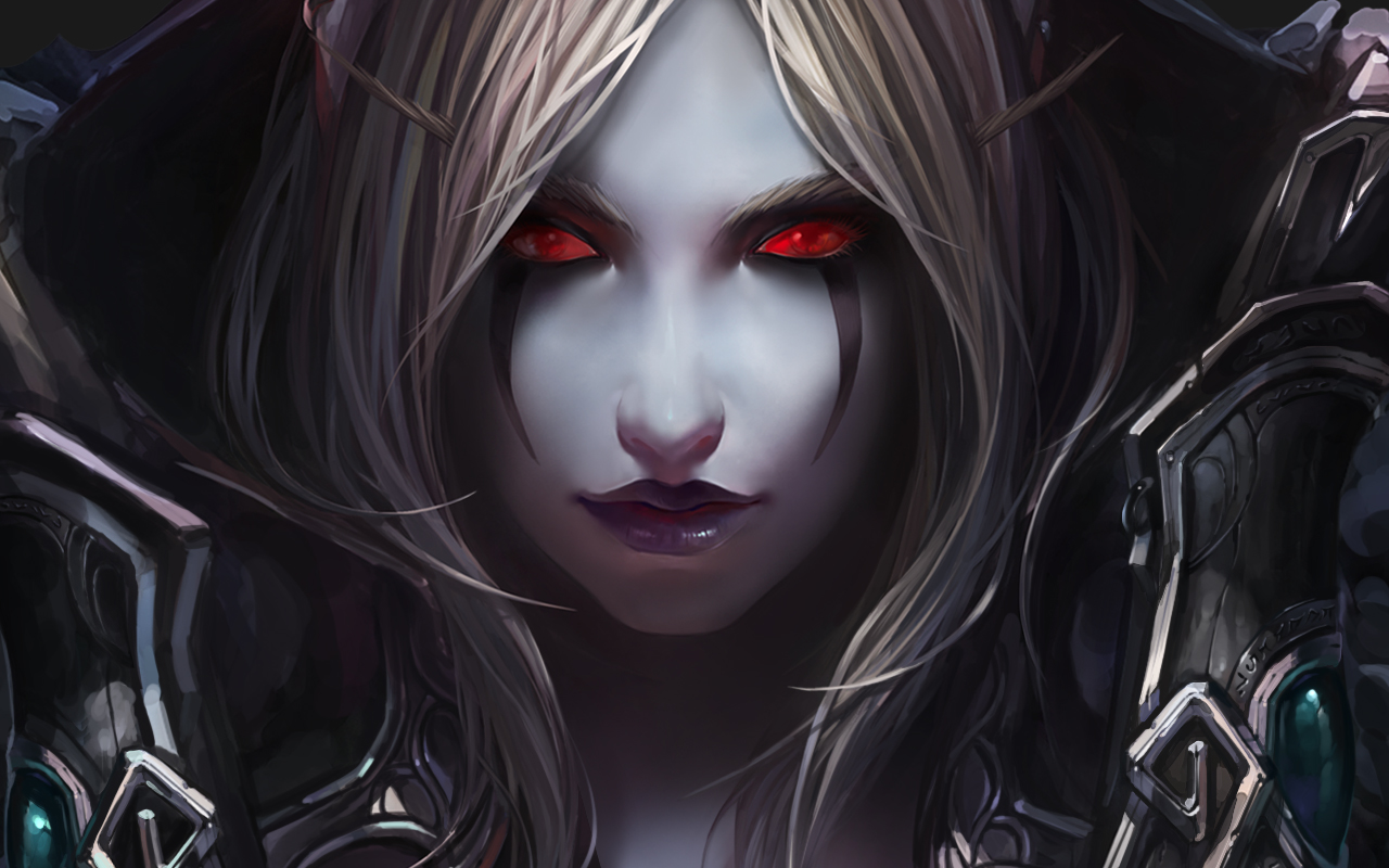 World of warcraft wow sylvanas windrunner wallpaper background