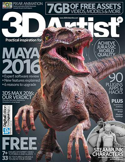 3D Artist Magazine Issue 81 2015