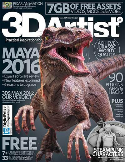 3D Artist Magazine Issue 81 2015