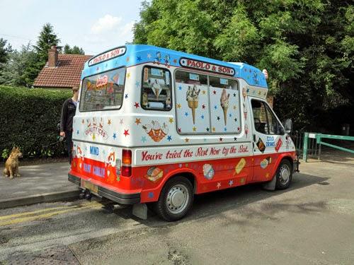 Ice Cream Van, Stockport, England.
