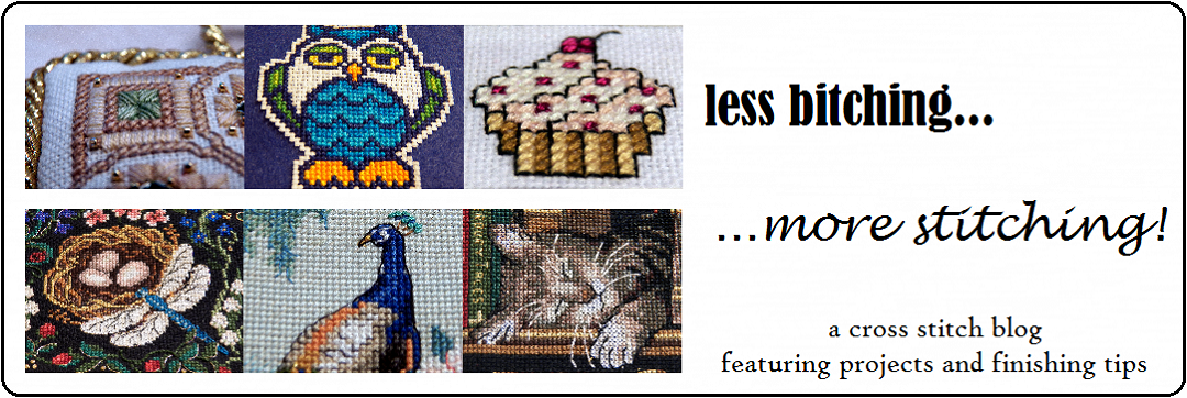 Less Bitching, More Stitching! - A Cross Stitch Blog