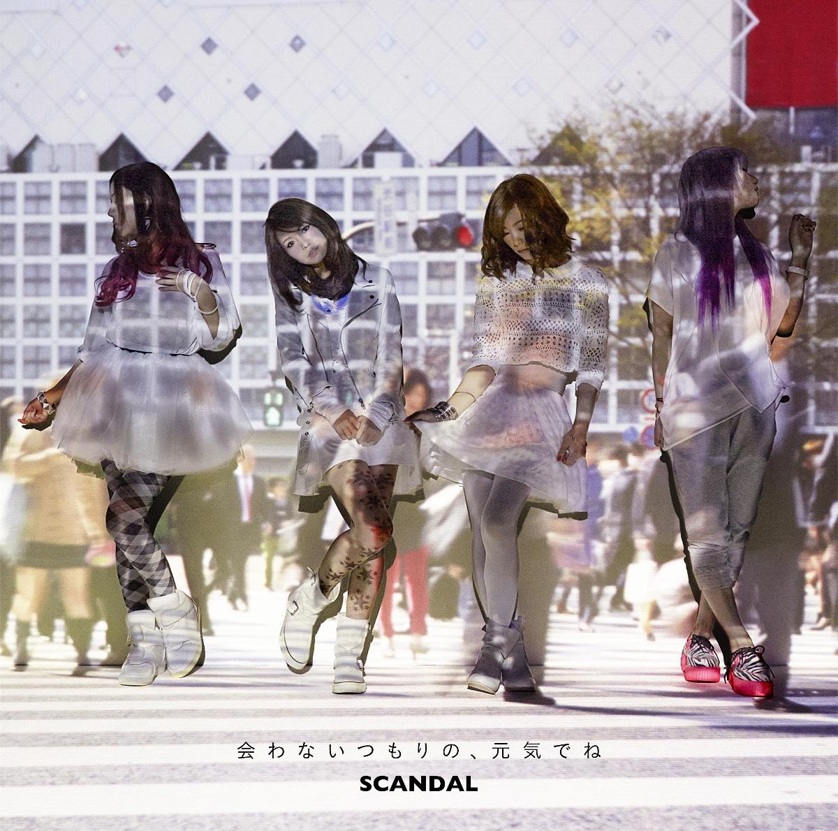 SCANDAL Awanaitsumorino,Genki dene CD-DVD Limited Edition Type B
