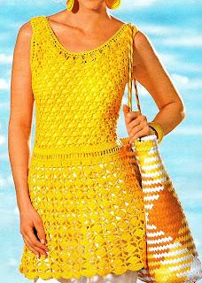 Mini vestido amarillo o largo top