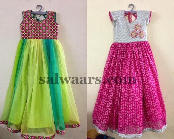 Simple Long Frocks Indian Dresses